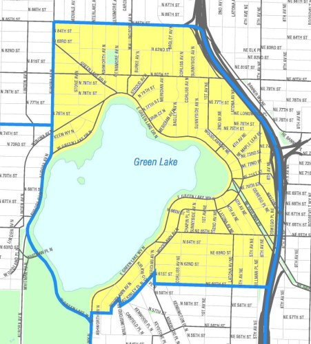 [Map of Green Lake]